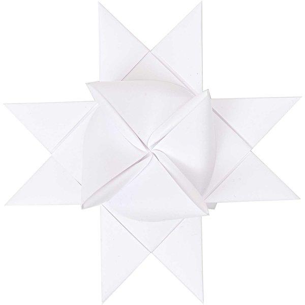 Paper Poetry Fröbelstreifen weiß XS 1x35cm 80 Stück