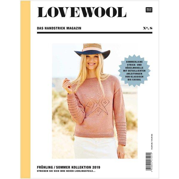 Rico Design Lovewool Nr.8 Handstrickmagazin Frühjahr-Sommer 2019