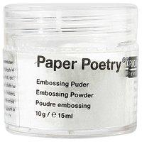 Paper Poetry Embossingpuder klar 10g
