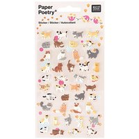 Paper Poetry Sticker Katzen