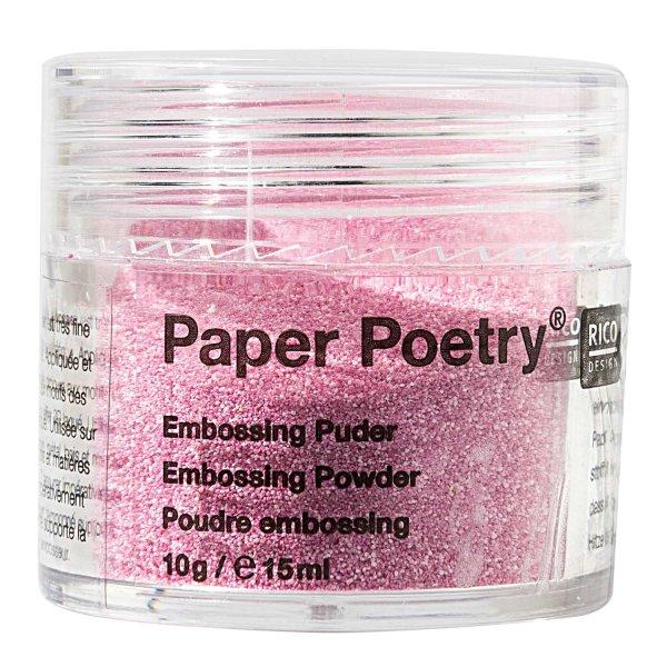 Paper Poetry Embossingpuder pink perlmutt 10g