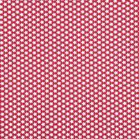 Rico Design Stoff Blümchen rot-weiß 50x55cm