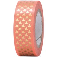 Paper Poetry Tape Dreiecke gold 15mm 10m Hot Foil