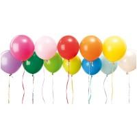 YEY! Let's Party Luftballon Mix mehrfarbig 30cm 12 Stück