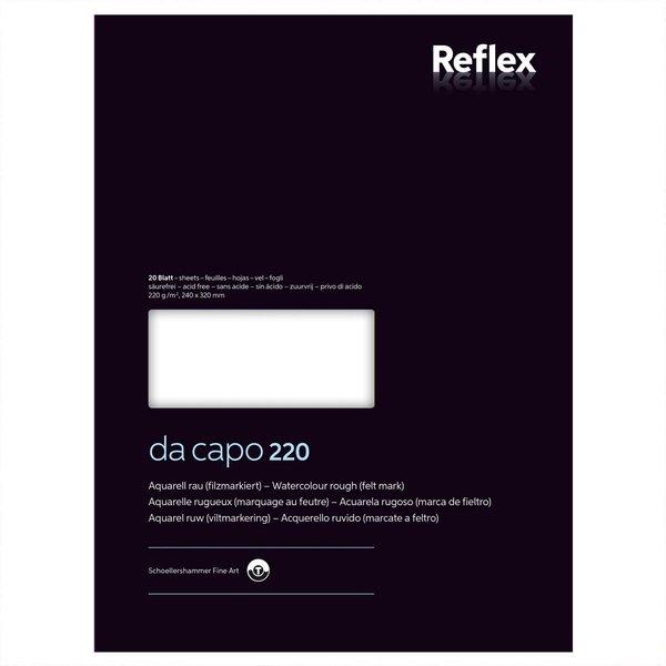 Da Capo Aquarellblock Nr. 4 24x32cm 220g 20 Blatt
