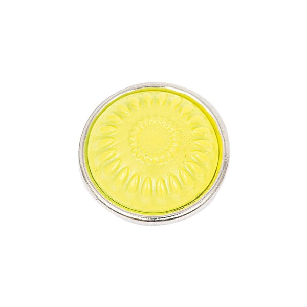 Rico Design Knopf Strahlen gelb 14mm