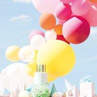 Anleitung Luftballongirlande basteln