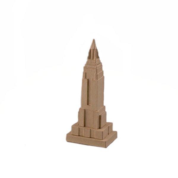 efco Pappmaché Empire State Building 9,5x7x23,5cm