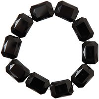 Rico Design Glasschliffarmband schwarz Ø=5cm