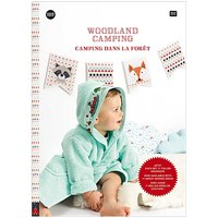 Rico Design Stickbuch Nr. 159 Woodland Camping