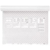 Rico Design Buchfolie transparent selbstklebend 200x45cm