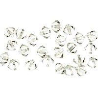 Swarovski® Glasschliffperle crystal 4mm 25 Stück