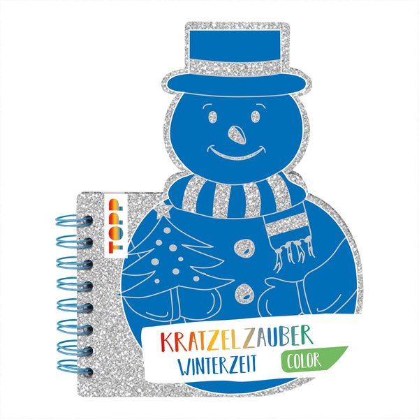 TOPP Kratzelzauber Color Winterzeit