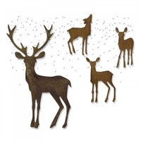 Sizzix Thinlits Die Set Winter Wonderland by Tim Holtz