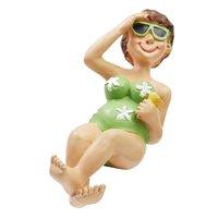 HobbyFun Bade-Urlauberin für Liegestuhl