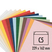 Artoz Serie 1001 Kuverts B6 100g/m² 5 Stück
