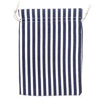Beutel Maritim blau-weiß 20x15cm