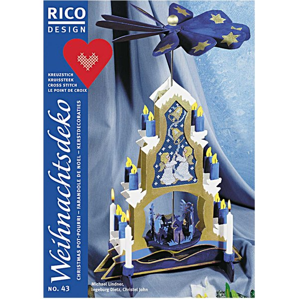 Günstig Weihnachtsdeko Kaufen.Rico Design Weihnachtsdeko Nr 43