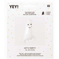 YEY! Let's Party Folienballon Gespenst 40x70cm