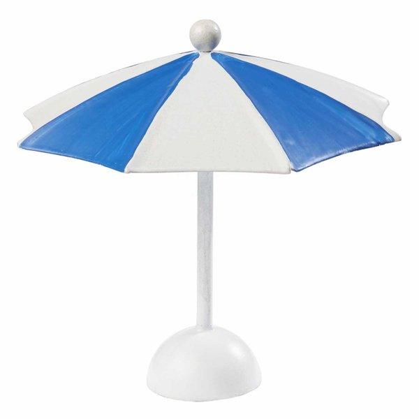 HobbyFun Sonnenschirm blau-weiß