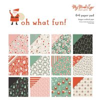 MyMindsEye Oh What Fun - Paper Pad 15,2x15,2cm
