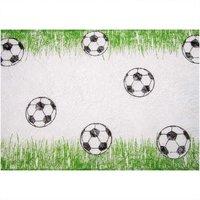 hotex Vlies-Tischband Fußball grün 30 cm