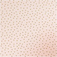 Rico Design Jerseystoff Baby Collection Sterne rosa-gold 70x100cm