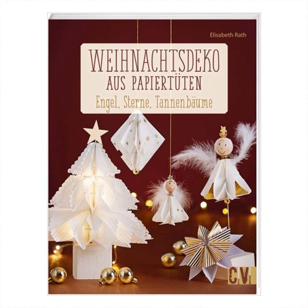 Buch Weihnachtsdeko Aus Papiertuten Engel Sterne Tannenbaume