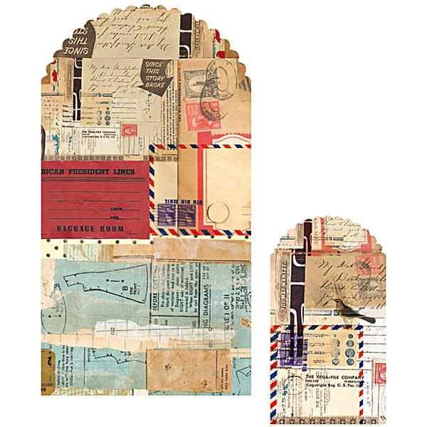 Paper Poetry Papiertüten Vintage II 10 Stück