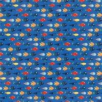 MyMindsEye Scrapbooking Bogen Under the Sea Friendly Fish 30,5x30,5cm