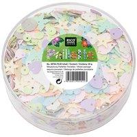 Rico Design Pailletten Mix Porzellan pastell 55g