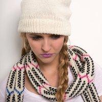 Strickanleitung Mütze und Schal aus Soft Merino