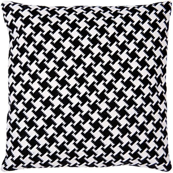 Favorit Rico Design Gobelin Kissen Pepitamuster schwarz-weiß 40x40cm zum WF98