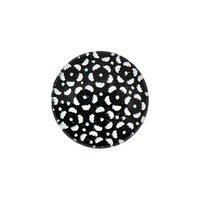 Jewellery Made by Me Cabochon Blumen schwarz-weiß 12mm Glas