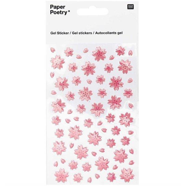 Paper Poetry Gelsticker Kirschblüten