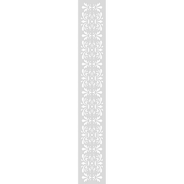 Rico Design Schablone Ornamentbordüre 10,5x70cm selbstklebend