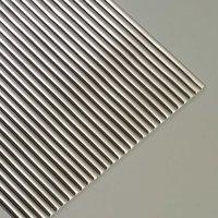 efco Wachsstreifen rund silber 20cm