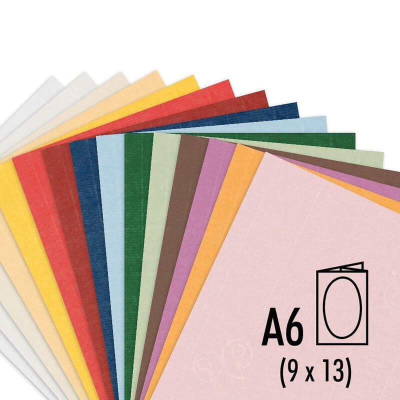 Artoz Passepartout-Karte A6 220g/m² 3 Stück oval