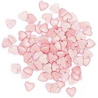 Rico Design Dekor Herzen pink 60g