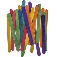 Rico Design Bastelhölzer mehrfarbig 11,5cm 70 Stück