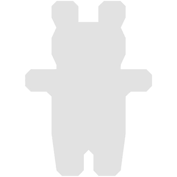 Rico Design Cardboard Bären 10,5x7,6cm 3 Stück
