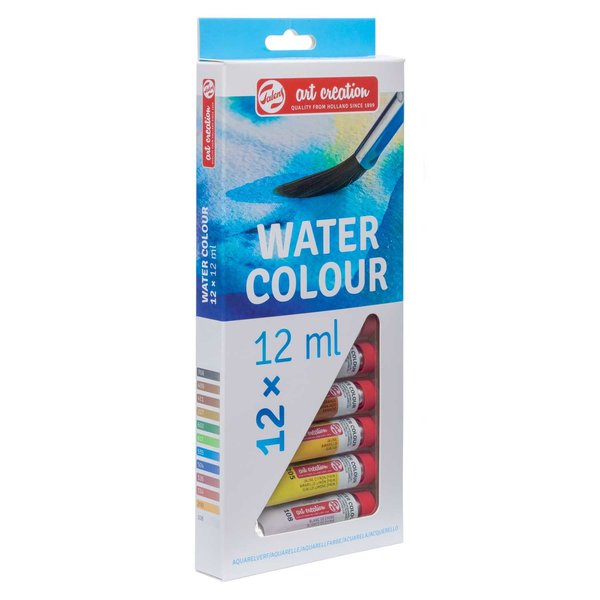 Art Creation Aquarellfarben Set 12x12ml