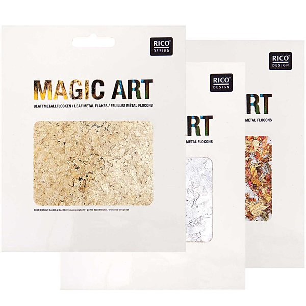 Rico Design Magic Art Blattmetall-Flocken