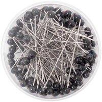Rico Design Pins schwarz 100 Stück