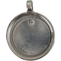 Jewellery Made by Me Anhänger für Buttons silber 32,5x25,5mm