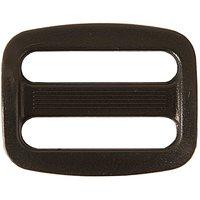 Rico Design Leiterschnalle schwarz 25mm
