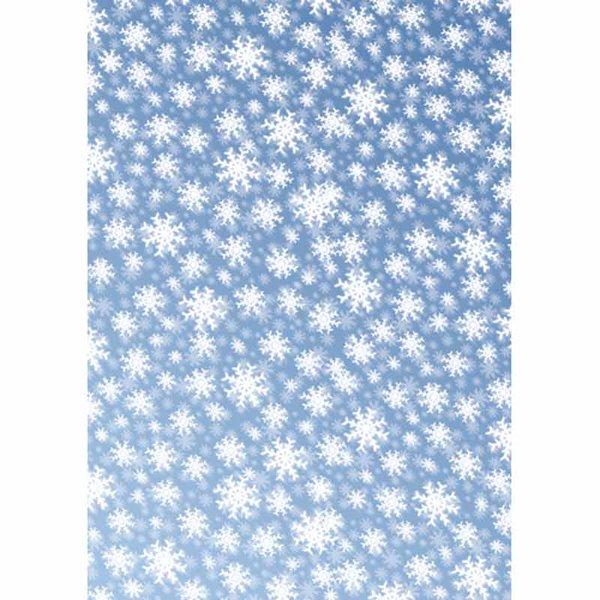 MARPA JANSEN Transparentpapier Eiskristalle 50x60cm
