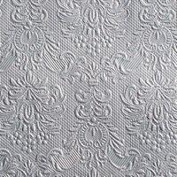 Ambiente Serviette elegance silver 33x33cm 15 Stück