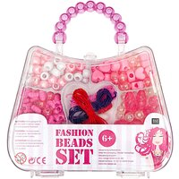 Rico Design Fashion Beads Set pink 14,5x22x15,8cm