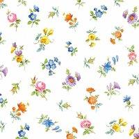 Ambiente Serviette sprinkle flowers 33x33cm 20 Stück